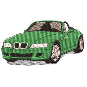 2000 BMW Z3 Roadster Embroidery Design