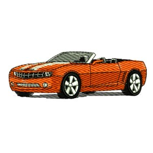 2013 Chevrolet Camaro Convertable RS SS Embroidery Design
