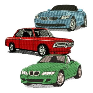 BMW Embroidery Designs
