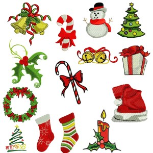Christmas Embroidery Design Discount Value Pack