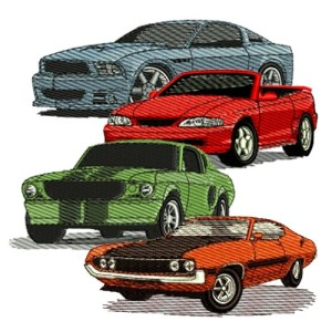 Ford Embroidery Designs