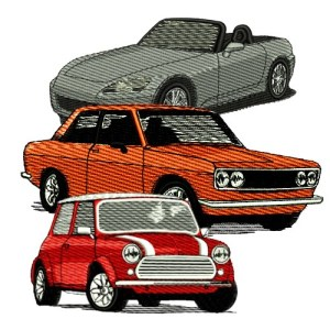 Misc Car Embroidery Designs