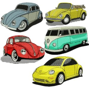 Volkswagen VW Embroidery Design Discount Value Pack