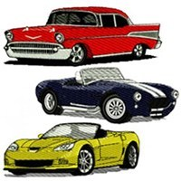 Chevrolet Chevy Embroidery Designs