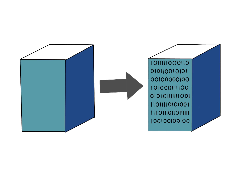 cartoon image of digital twins