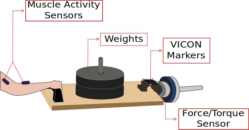 image of instrumentation set up