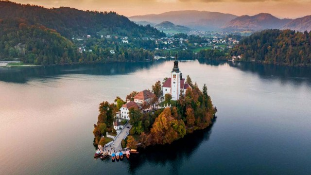 slovenia lake bled Cleanest Countries in the world digitpatrox