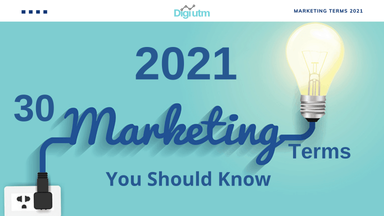 30 Marketing Terms You Should Know
