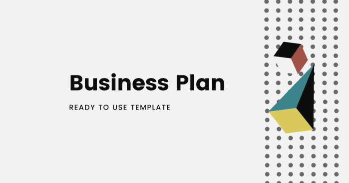Business plan ready to use template
