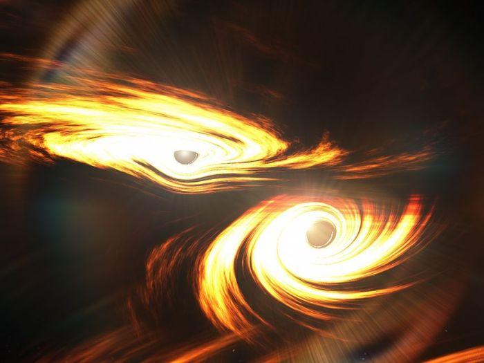 Biggest Black Hole Collision Detected