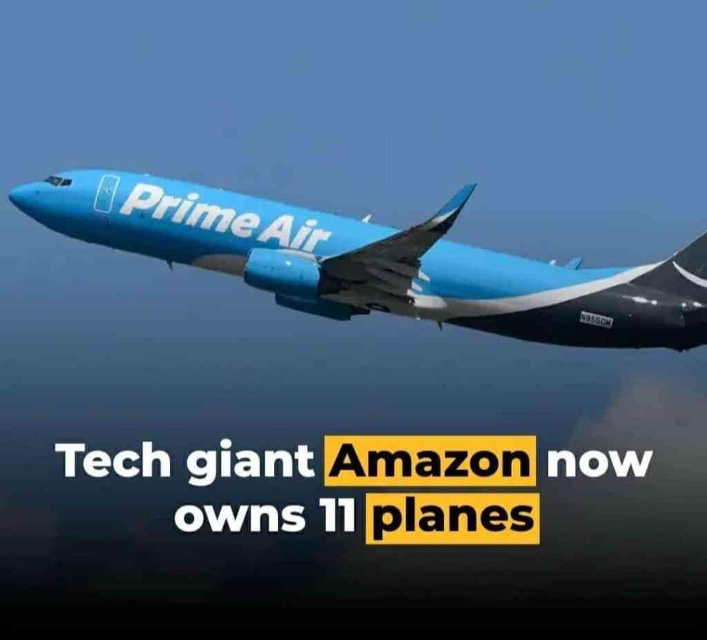 Amazon Now owns 11 planes