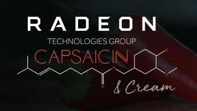 AMD Vega Sneak Peek at Capsaicin & Cream Livestreamed Event