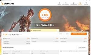AMD Radeon RX 580 benchmarks - Fire Strike Ultra