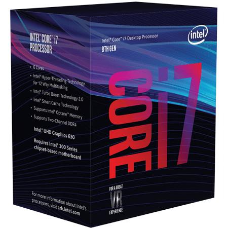 Intel Core i7 Coffee Lake CPUs