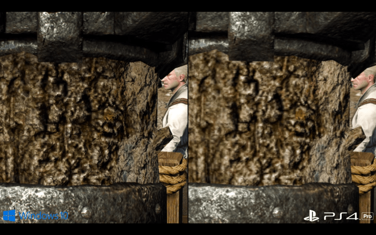 The Witcher 3 PS4 Pro vs PC 4K (1)