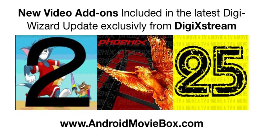 Digi Wizard XBMC Video Adons