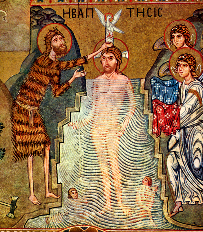 Mosaic of the Baptism of the Lord