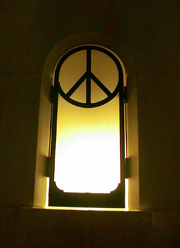 Stained glass - Peace. Click to enter image viewer Use the Save buttons below to save any of the available image sizes to your computer.