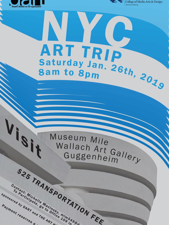 NYC Art Trip