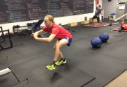 Single leg squat at Digman Fitness Madison Wisconsin