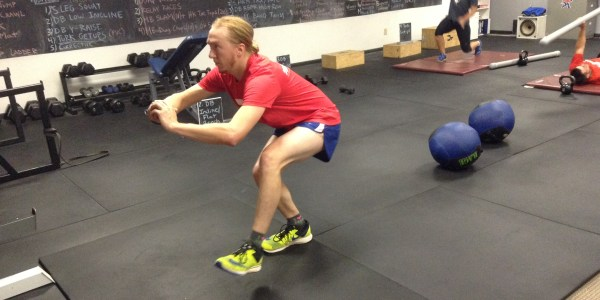 Single leg squat at Digman Fitness Madison Wisconsin