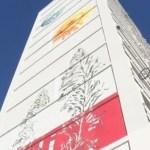 Dans le cadre de leur réinsertion, six jeunes accompagnés par l'association artistique Meta 2 ont réalisé une fresque de 40 mètres dans le quartier de Felix-Pyat à Marseille.