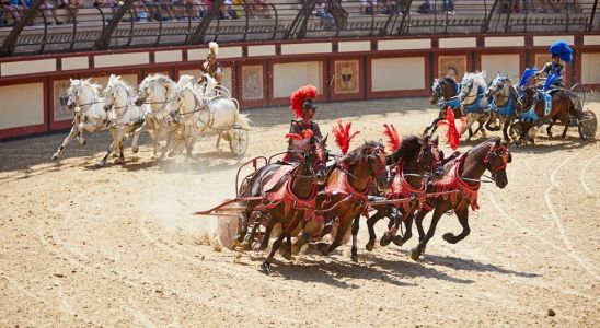 Un spectacle du Puy du Fou en octobre 2019 (Photo : Puy du Fou).