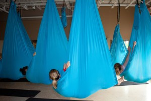 Learn to Fly with Aerial Yoga