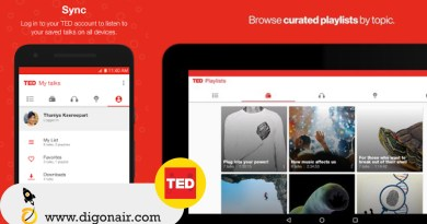 TED- Educational Mobile App