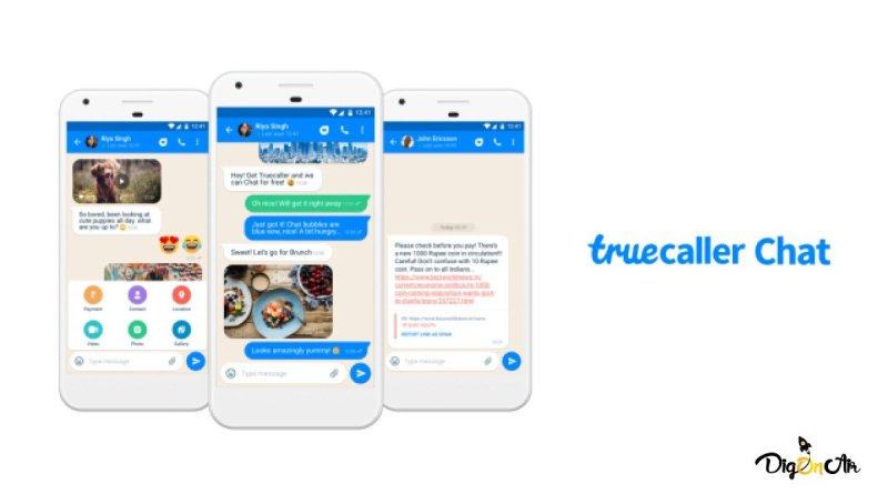 TrueCaller Instant Messaging Feature 1