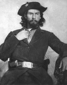 """""""Bloody"""" Bill Anderson, ca. 1863 or 1864. Guerrilla warfare on the western front in the American Civil War. #civilwar #americanhistory #history"""