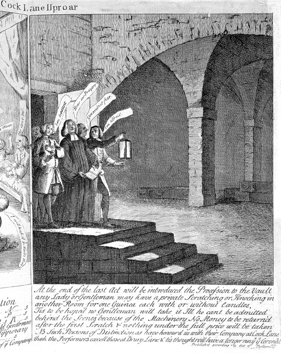 The Cock Lane Ghost: A Haunting Hoax in 18th Century London