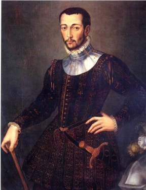 a painting of francesco de medici