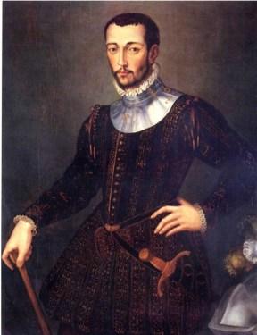 a painting of francesco de medici