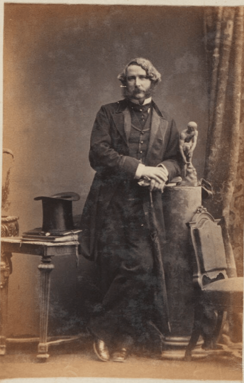 A photograph of Gustavus Cornwall
