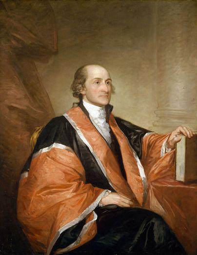 The Gilbert Stuart painting of John Jay