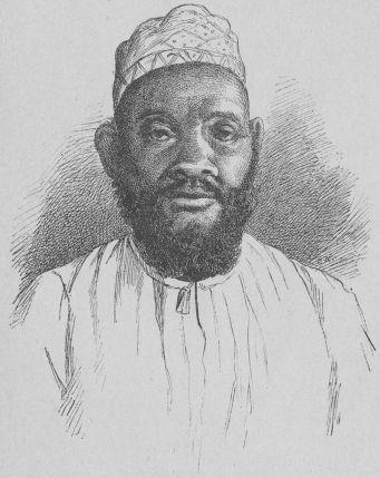 A sketch of Swahili-Zanzibari leader Tippu Tip