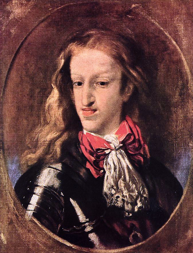 A painting of Charles II of Spain