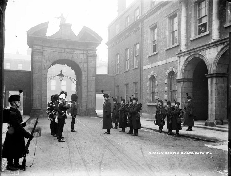 Dublin Castle in 1905