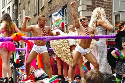 Dublin Gay Pride parade float