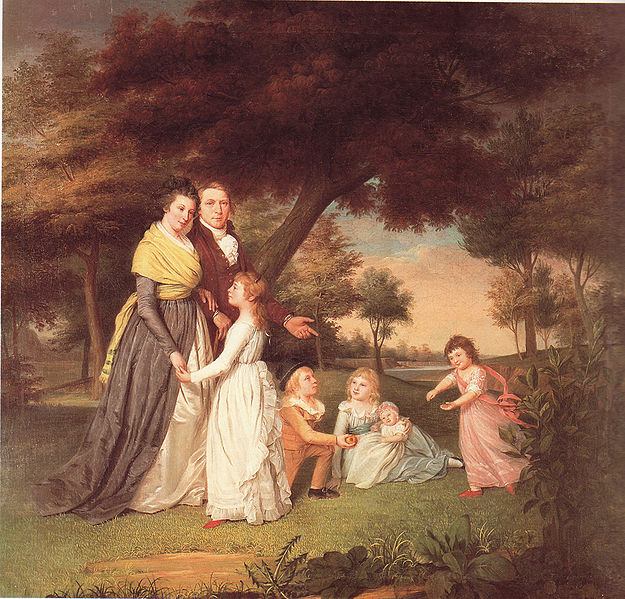 James Peale, The Artist and His Family