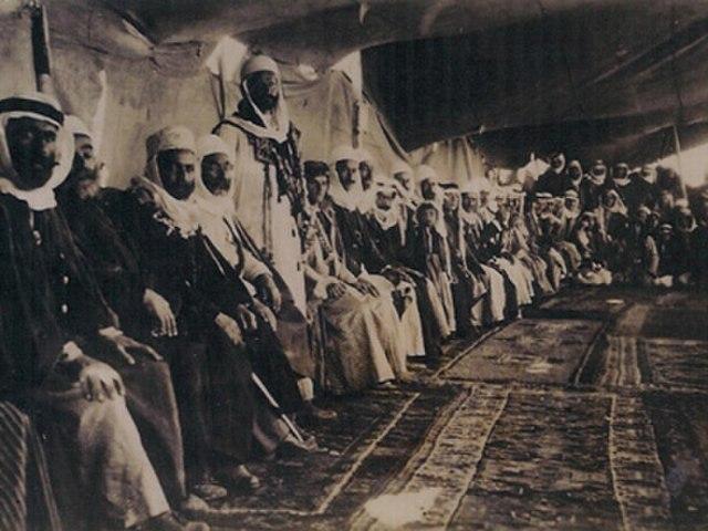 Syrian Druze leaders meeting in 1926