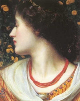 Frederick Sandys, La Belle Isolde