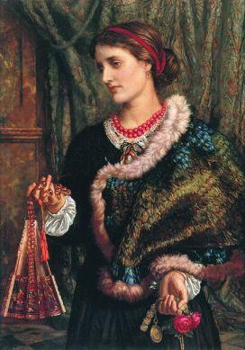 William Holman Hunt, The Birthday (A Portrait Of The Artist's Wife, Edith) (1868)