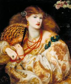 Dante Gabriel Rossetti, Monna Vanna (1866), Tate (N03054)