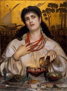 Frederick Sandys, Medea (1868), Birmingham Museum & Art Gallery