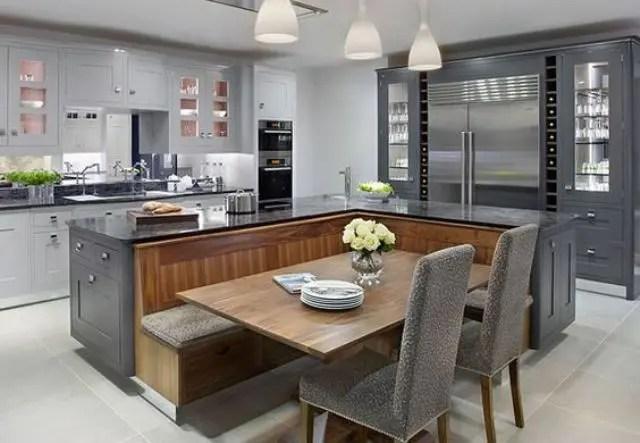 Kitchen Island Vs Dining Table Novocom Top