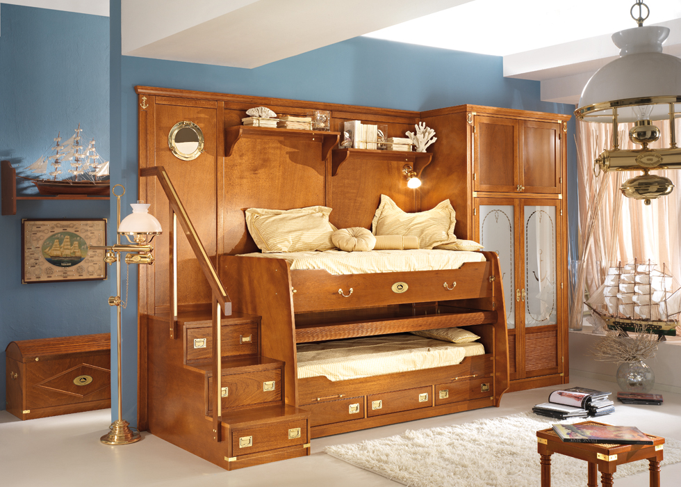 Great Sea-Themed Furniture For Girls And Boys Bedrooms By