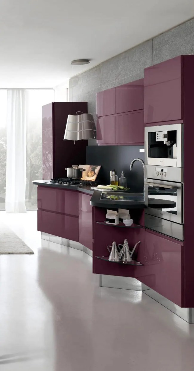 New Modern Kitchen Design with White Cabinets – Bring from ...