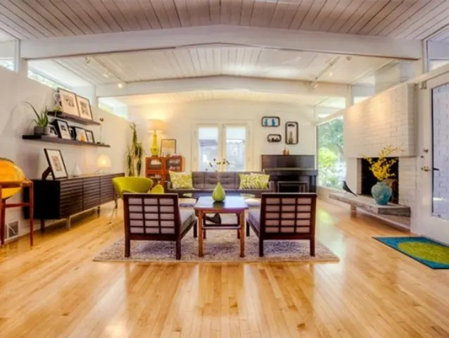 79 Stylish Mid-Century Living Room Design Ideas